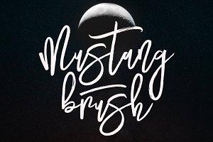Mustang Brush Script