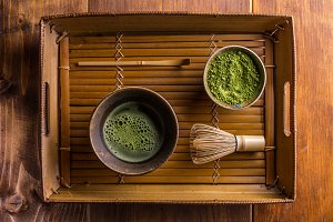 Japanese traditional tea set