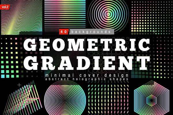 Geometric Halftone Gradient