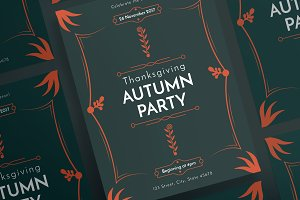 Posters | Autumn Party