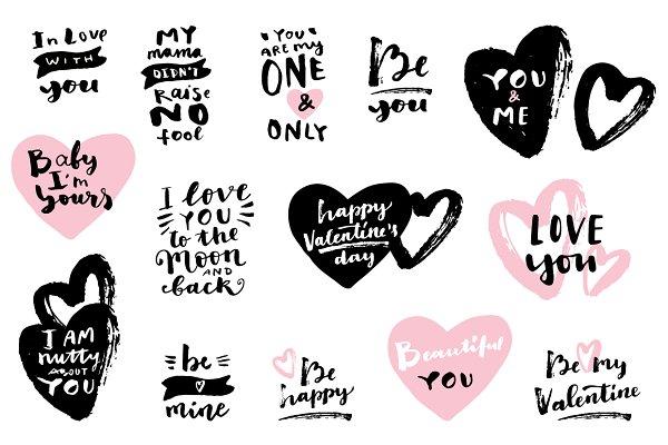 Love Calligraphy Set