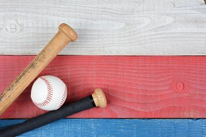 Patriotic Baseball Theme