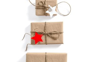 Gift boxes Holidays background