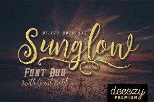 Sunglow Font Duo
