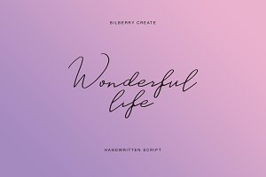 Wonderful life script