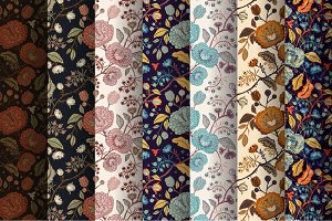 7 Floral Provence Patterns