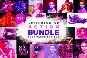 Photoshop Action Big Bundle