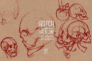 Skulls - Sketch 2 The Bone