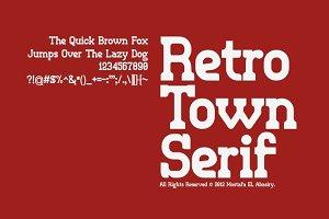 Retro Town Serif
