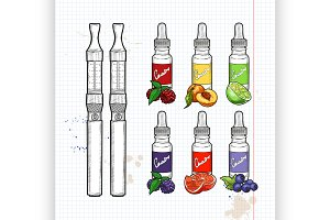 Vector electronic cigarette