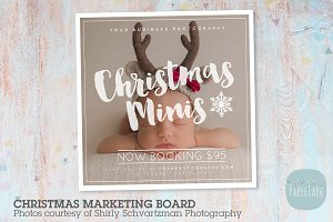 IC050 Christmas Marketing Board