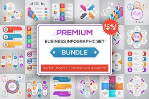 Premium Business Infographic Bundle