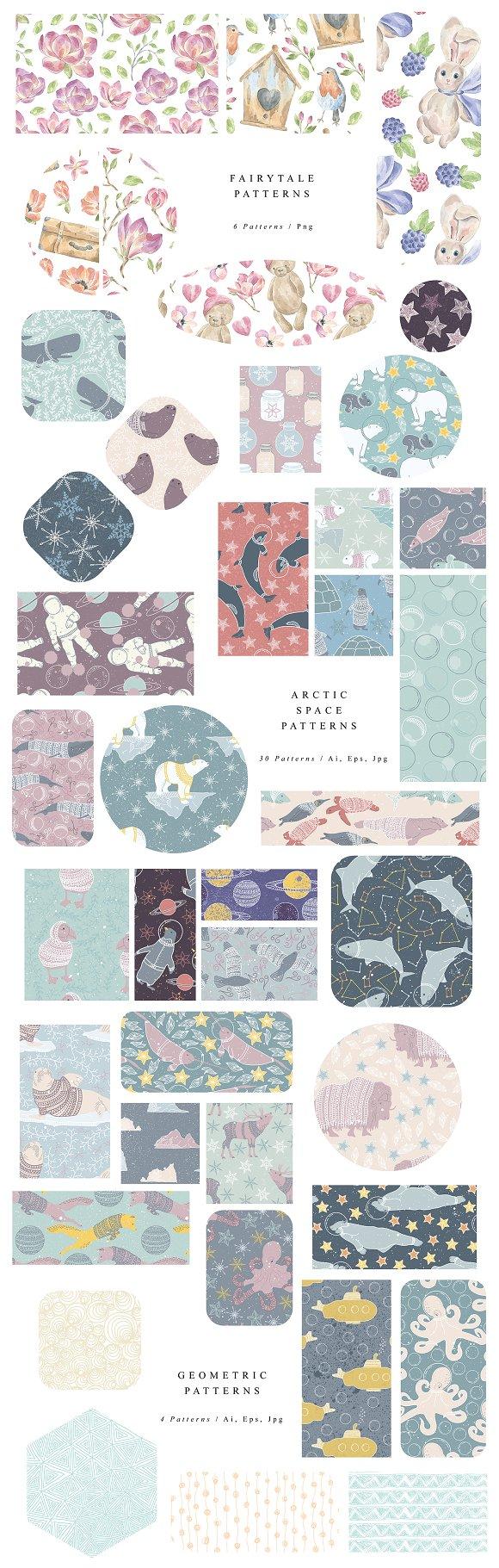 1805 Patterns Bundle Graphic Patterns Creative Market