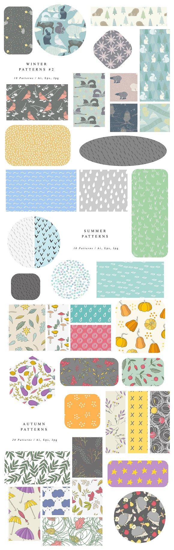 cc5da54e8f7a 1805 Patterns Bundle