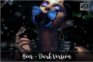 5K Bees - Dark Version