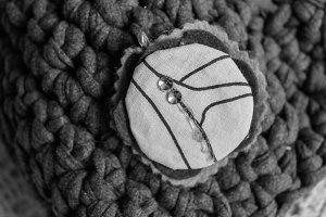 Crochet Purse Detail