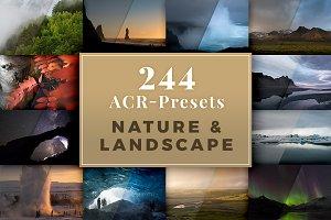 244 ACR Presets - Nature & Landscape