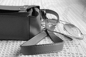Bag  and Sunglasses