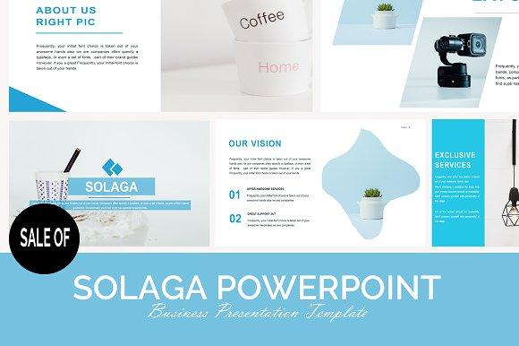 SOLAGA POWERPOINT - SALE OF