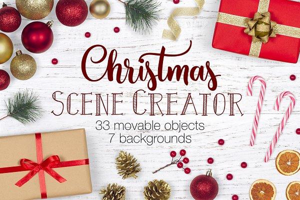 Christmas Scene Creator - Top View