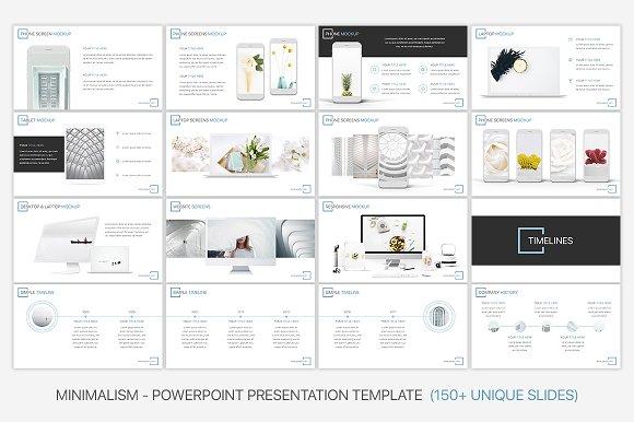 Minimalism Powerpoint Template Presentation Templates Creative