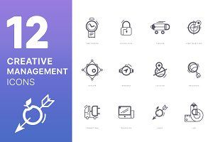Creative Management Icons!