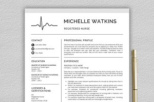 Nurse Resume / Medical CV