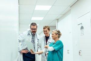Team of medics