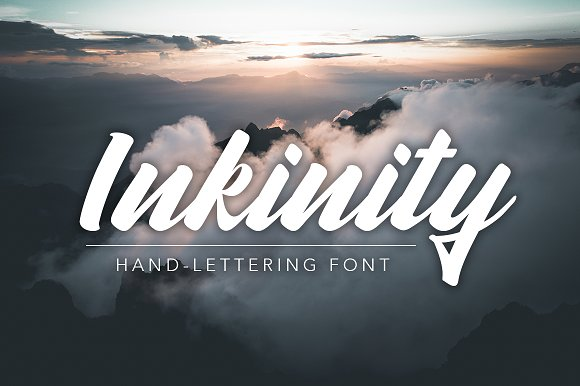 Inkinity   Hand-lettering Font