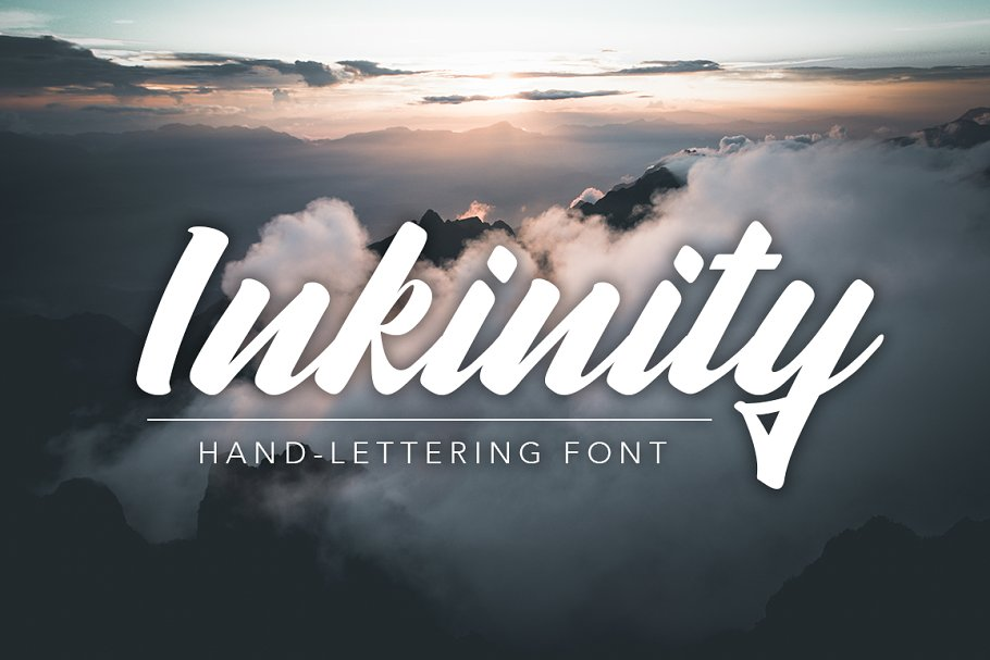 Inkinity | Hand-lettering Font ~ Script Fonts ~ Creative Market