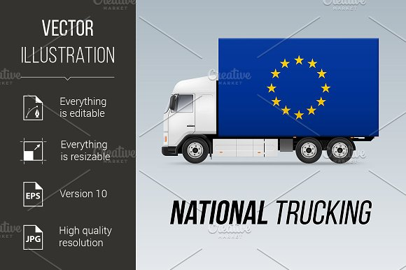 National Delivery Truck
