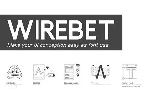 Wirebet Fonts