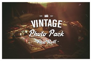 Vintage Photo Pack - First Roll
