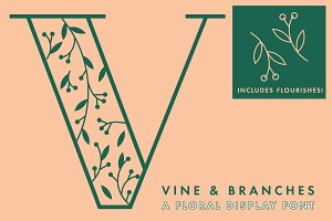 Vine and Branches Font