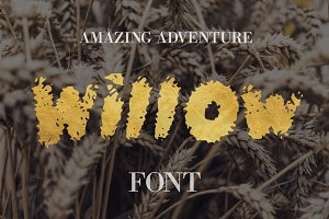 Willow Font - 50% Off