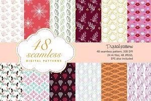 48 Seamless Patterns