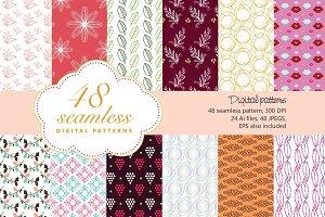 48 Seamless Patterns