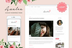 Azalea Light - WordPress Theme