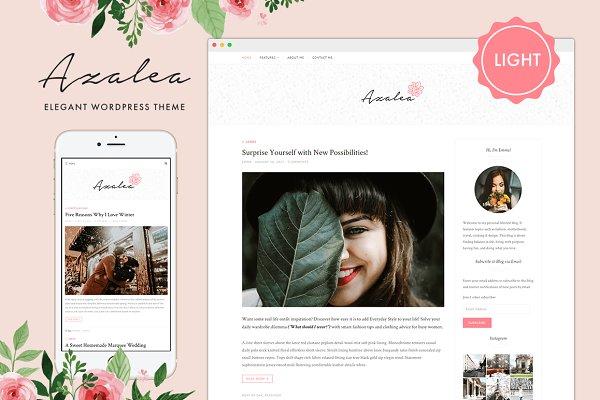 Azalea Light - WordPress Theme