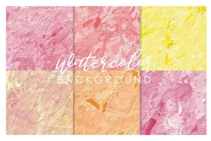 Sweet watercolor background1#