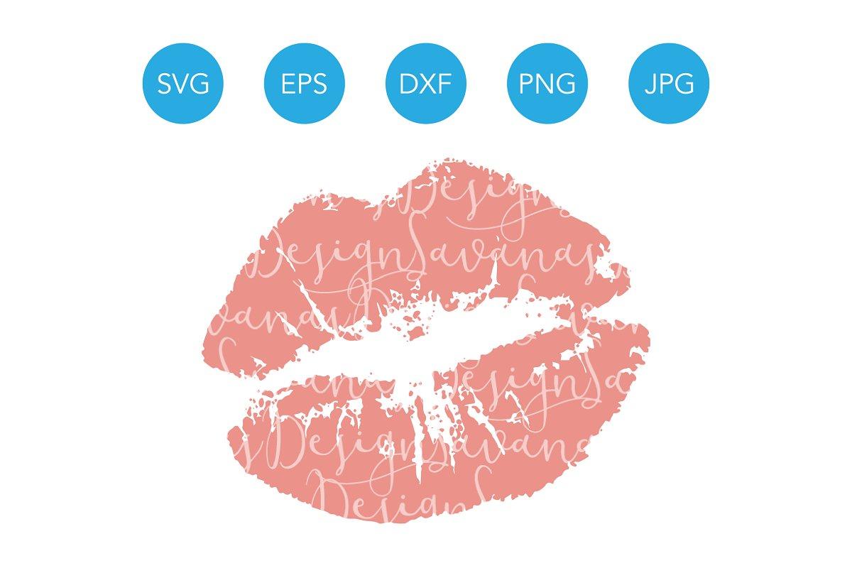 Kiss smooch PNG Image.