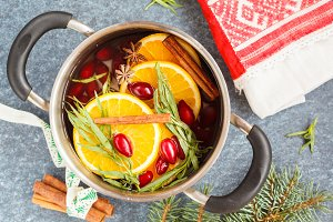 winter compote or mulled wine