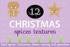 Christmas Spices Textures Pack