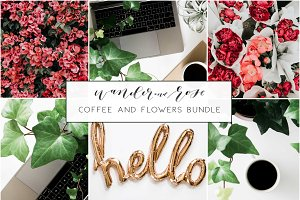 Coffee & Flower Styled Stock Bundle
