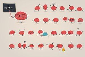 Brain character big set 2