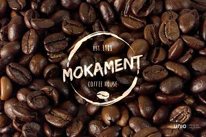 Mokament Coffee House Logo