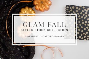 Glam Fall Style Stock Bundle