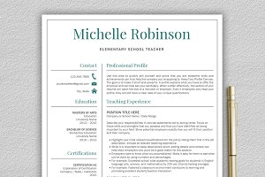 Teacher Resume | CV + Cover Letter