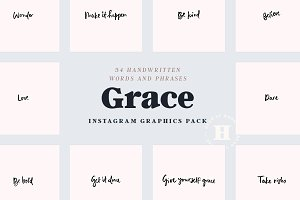 Grace Good Vibes Instagram Words