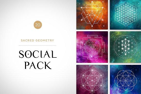 Sacred Geometry Social Media Pack